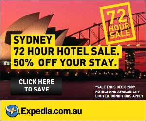 72 hour Sydney Hotel Sale