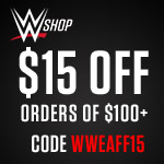 $15 off $100+ with code WWEAFF15_150x150