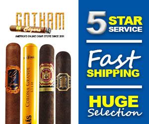 Gotham Cigars - Free Shipping