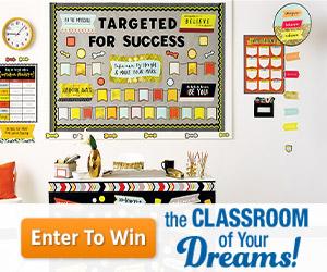 Carson-Dellosa Classroom of Your Dreams Sweepstakes