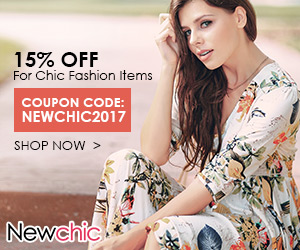15% Off For Chic Fashion Items