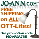 Get Free Shipping on ALL OTT-Lites at Joann.com!
