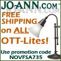 Get Free Shipping on ALL Ott-Lites at joann.com!