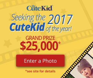 2016 CuteKid of the Year Submit your Toddlers photos Free Membership and chance to Win