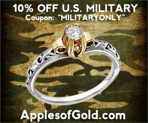 ApplesofGold.com - 10% OFF + Free Shipping Year-Round U.S. Military Discount
