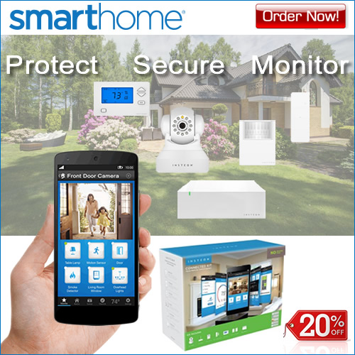 20% OFF Home Security Kits - SmartHome!