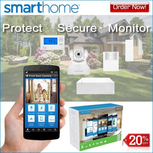 20% OFF Home Security Kits - SmartHome!
