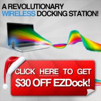 EZDock - Wireless Docking Station Sale!