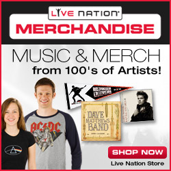 Live Nation Store - Music & Merchandise
