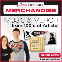 Live Nation Store - Music & Merchandise