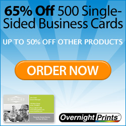 Free 100 Business Cards!