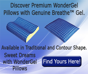 WonderGel makes seat cushions and pillows