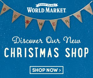 Discover the Christmas Shop at World Market
