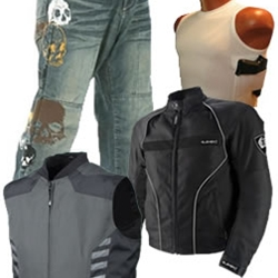Motorcycle Clothing From The Bikers' Den