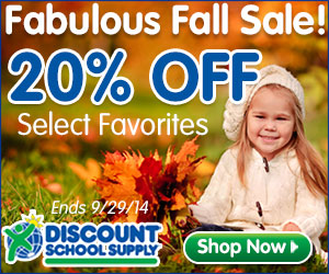 Save 20% Off Select Favorites During Our Fabulous Fall Sale