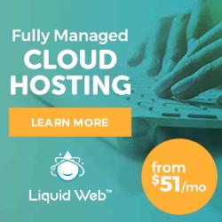 Liquid Web Managed Cloud Hosting: Starting at $99/mo