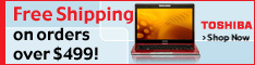 Free Shipping at Toshiba Direct
