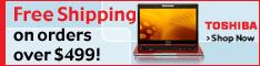 Free Shipping at Toshiba Direct