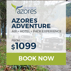 Image for  AzoresGetaways | Azores | Adventure | Banner 250 x 250 | Evergreen
