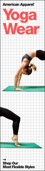 New Yoga Wear at American Apparel