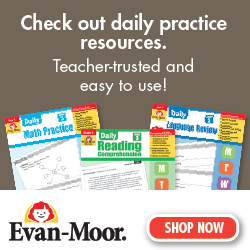 Evan Moor Daily Learning Resources for students