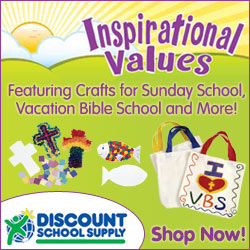 Shop Inspirational Values for Vacation Bible School and Sunday School Crafts