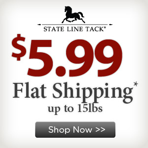 Get $5.99 Flat Shipping on StateLineTack.com