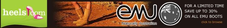 Emu Footwear up to 30% off at Heels.com