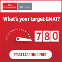 What's your target GMAT