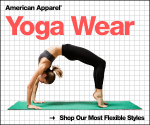 New Yoga Wear at American Apparel