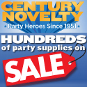 Century Novelty - Hundreds of Items Now on Sale!