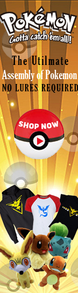 Pokemon related products, gotta catch em all!