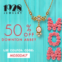 Mother's Day 2017 - Mother's Day Special - 50% OFF Downton Abbey Jewelry - Free Shipping over $25