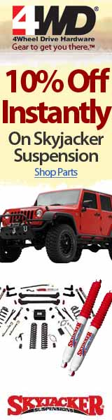 10% Off Skyjacker Parts