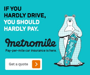 If you hardly drive, you should hardly pay for car insurance.