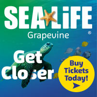 Visit SEA LIFE Grapevine
