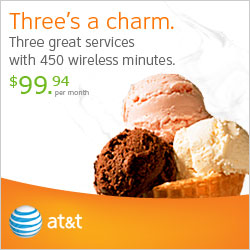 Three's a charm - Three Great Services