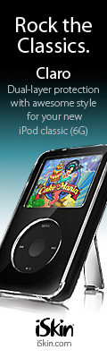 iSkin Claro for iPod video and iPod Classic (6G)