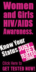 JustGetTested Women & Girls HIV/AIDS Awareness