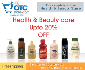 Get upto 20% off on your health & beauty items.