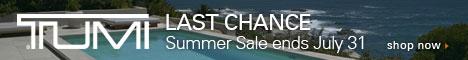 Tumi Summer Sale