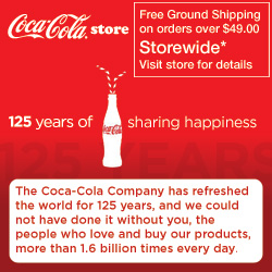 125 Years of Sharing Happiness -Coca-ColaStore.com