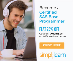 Certified SAS Base Programmer Certification