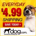 DOG.com:$4.99 FlatShipping_125x125