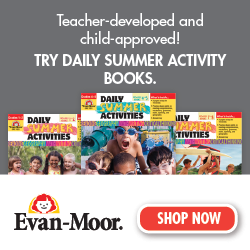 Try Daily Summer Activities books today