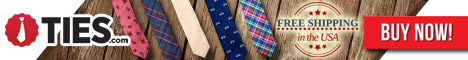 Find extra long ties at Ties.com