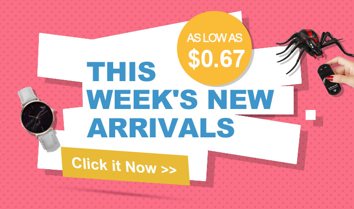 New arrivals available! As low as $0.67!