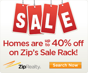 Homes up to 40% off on ZIP!