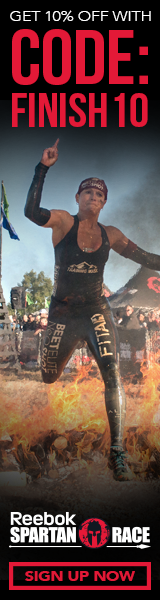 Get 10% off a Spartan Race, Use Code: FINISH10
