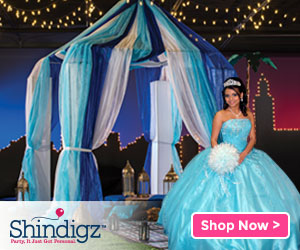 Shop Shindigz Quincea単era Products!